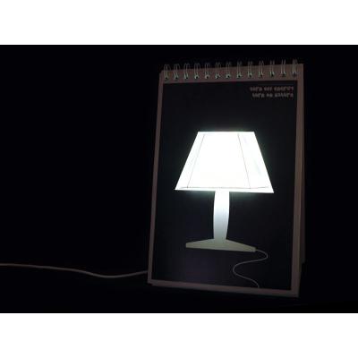 Originální stolní lampička