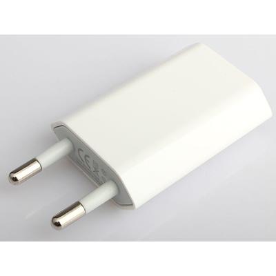 USB nabíječka 230V bílá