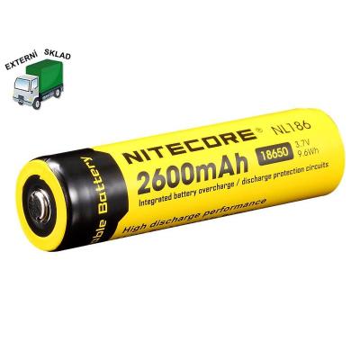 Baterie 18650, 2600mAh