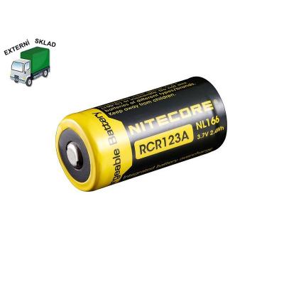 Baterie RCR123A, 650mAh