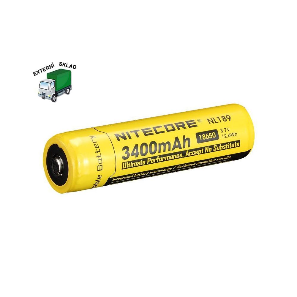 Baterie 18650, 3400mAh