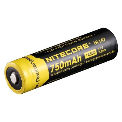 Baterie 14500, 750mAh