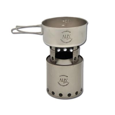 Dřevo-plynový vařič titan
