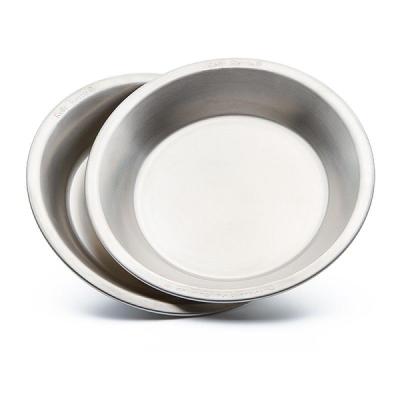 Nerezový talíř (2ks)