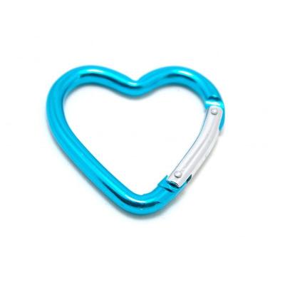 Hliníková karabina srdce