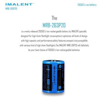 Baterie 26350 2000mAh