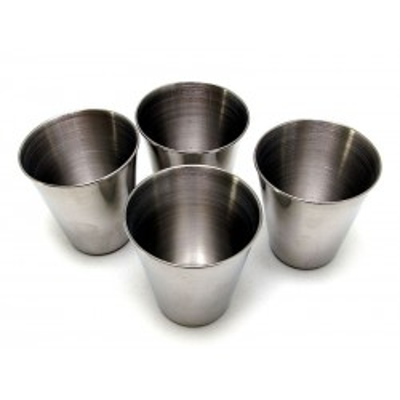 Hliníkové pohárky 4ks