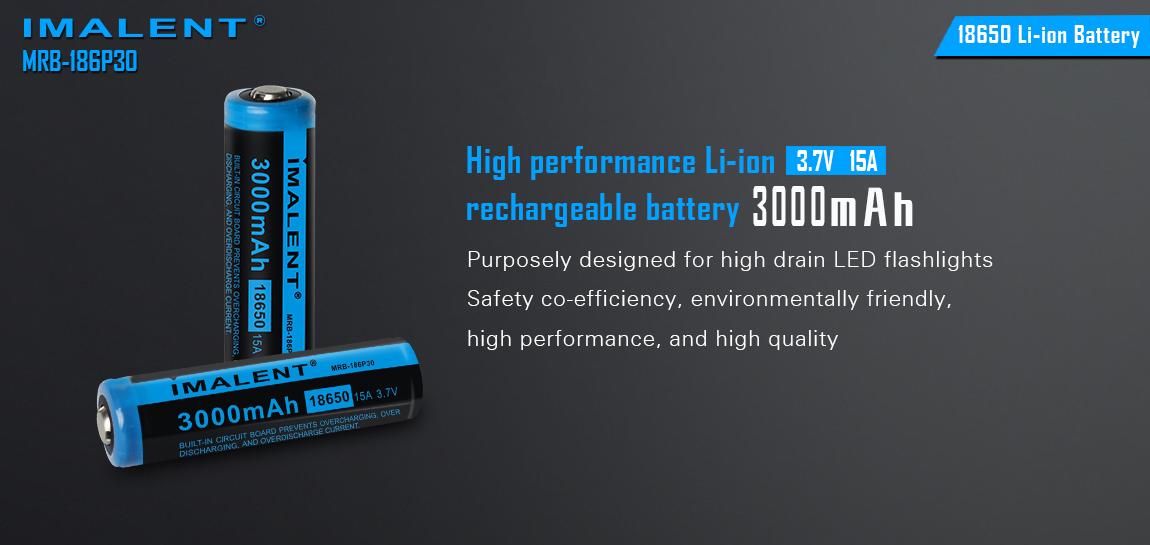 Baterie Imalent 18650 3000mAh