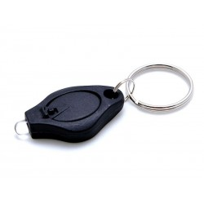 LED klíčenka - černá