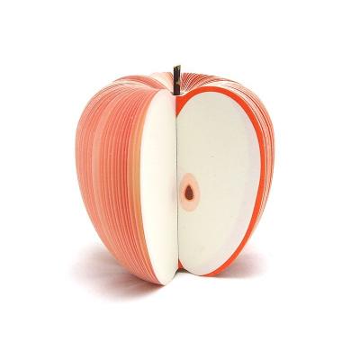 Papírový bloček jablko