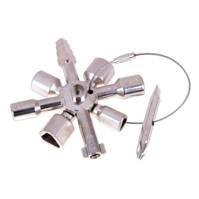 Univerzální klíč k rozvodným skříním 10v1