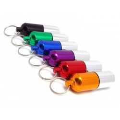 Hliníkové pouzdro barevné